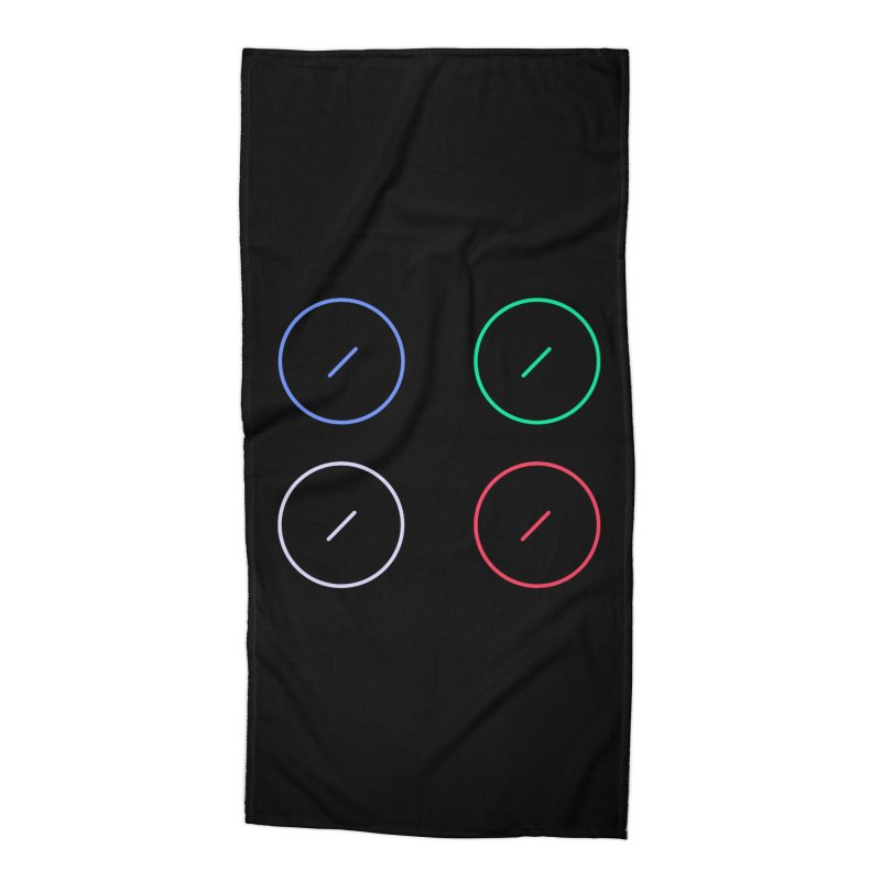 Just Knob Things Accessories Beach Towel by Red Means Recording