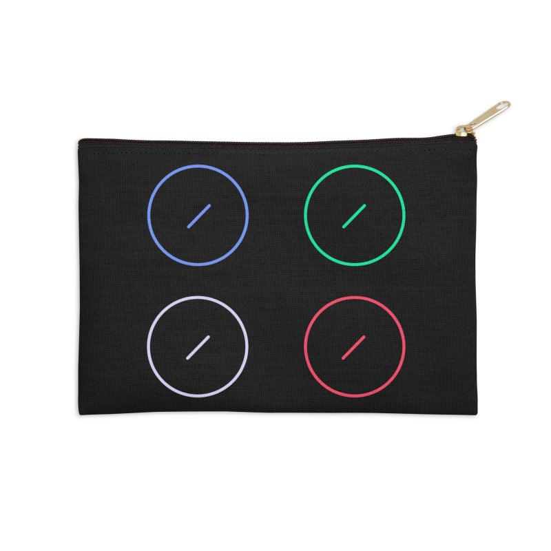 Just Knob Things Accessories Zip Pouch by Red Means Recording