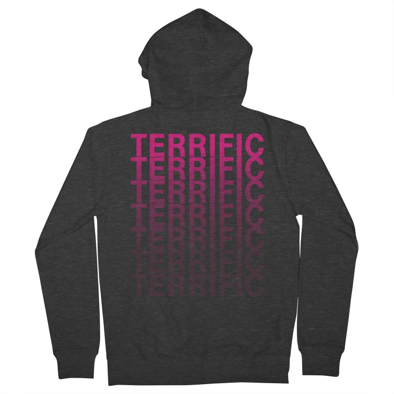 TERRIFIC Women's French Terry Zip-Up Hoody by Red Means Recording