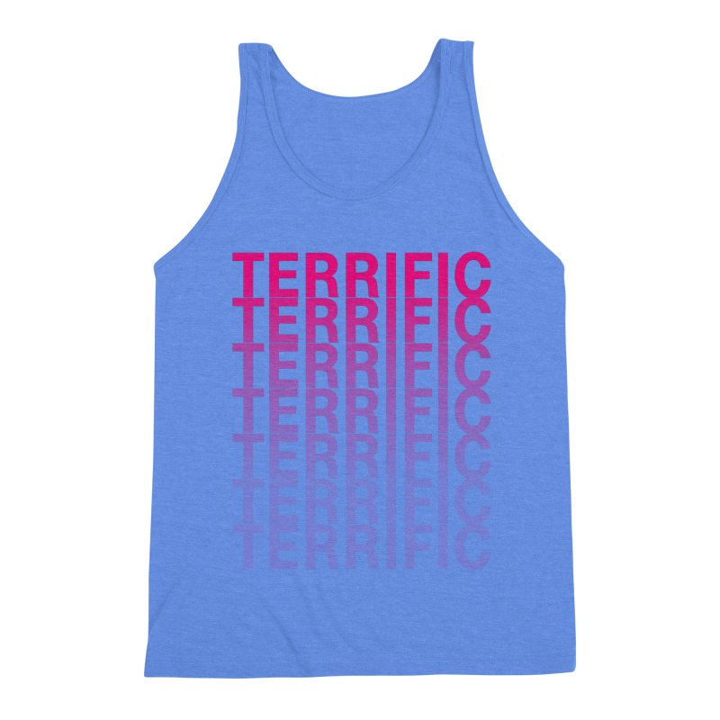 TERRIFIC Men's Triblend Tank by Red Means Recording