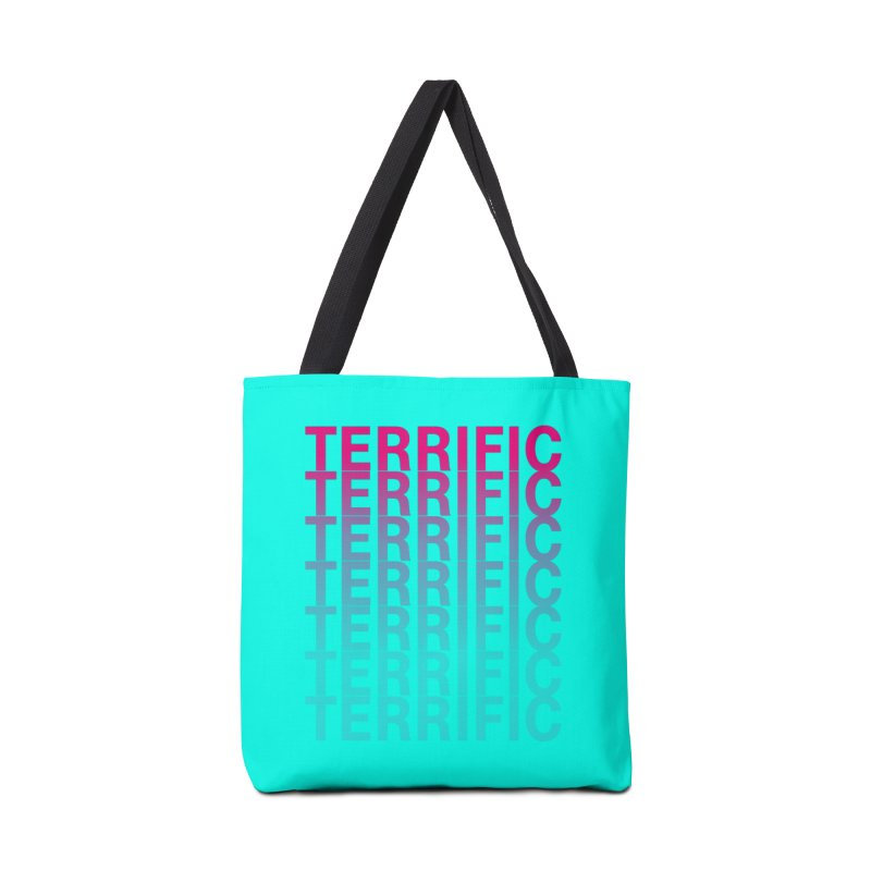 TERRIFIC Accessories Tote Bag Bag by Red Means Recording