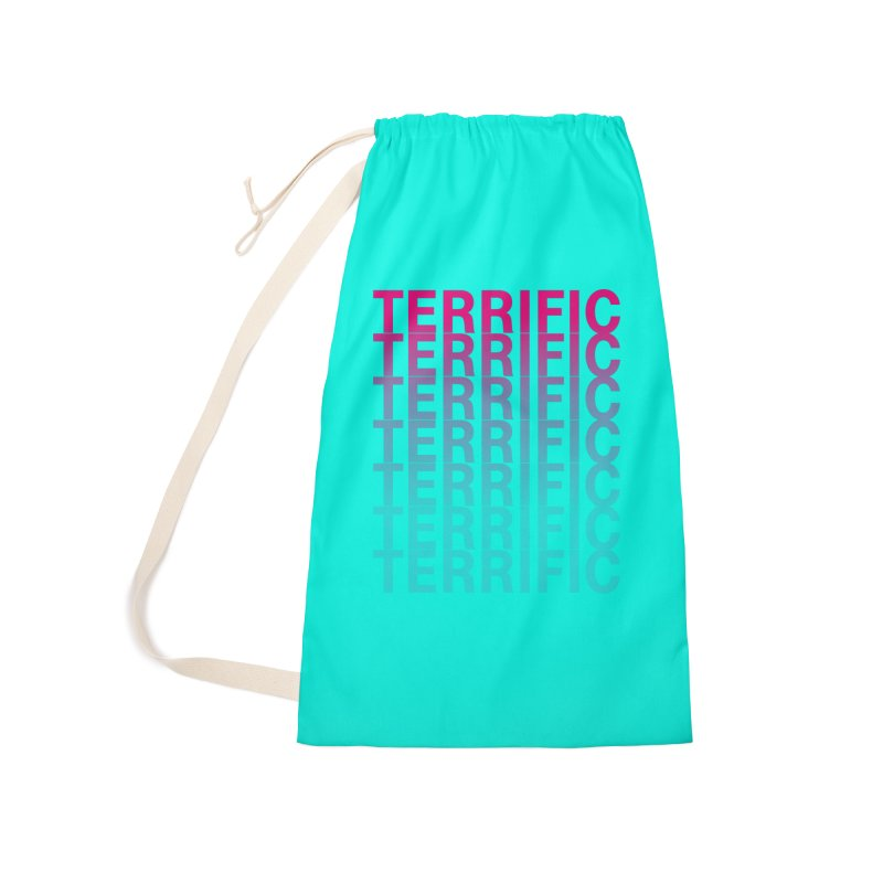 TERRIFIC Accessories Laundry Bag Bag by Red Means Recording