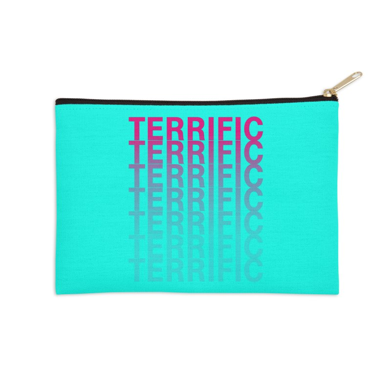 TERRIFIC Accessories Zip Pouch by Red Means Recording