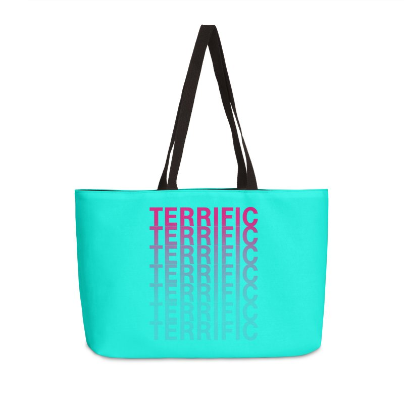 TERRIFIC Accessories Weekender Bag Bag by Red Means Recording