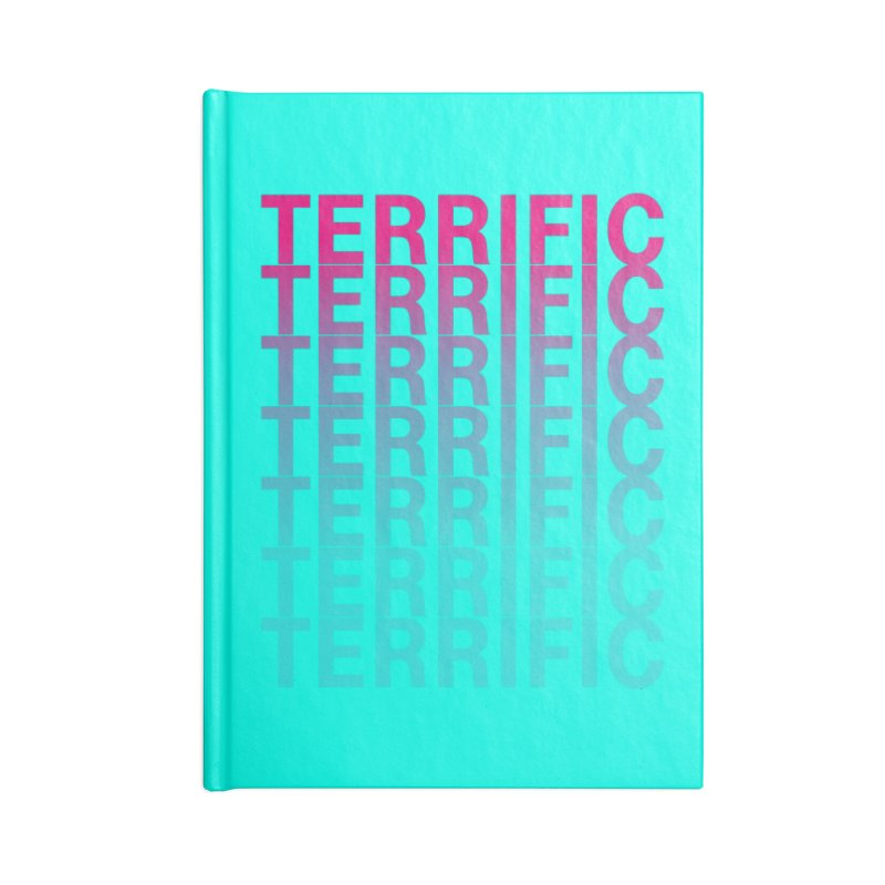 TERRIFIC Accessories Notebook by Red Means Recording
