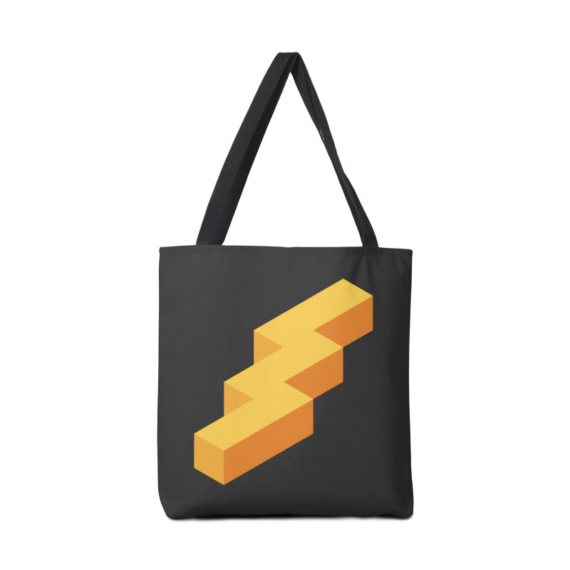 Lightning Noodle (Center) Accessories Tote Bag Bag by Red Means Recording