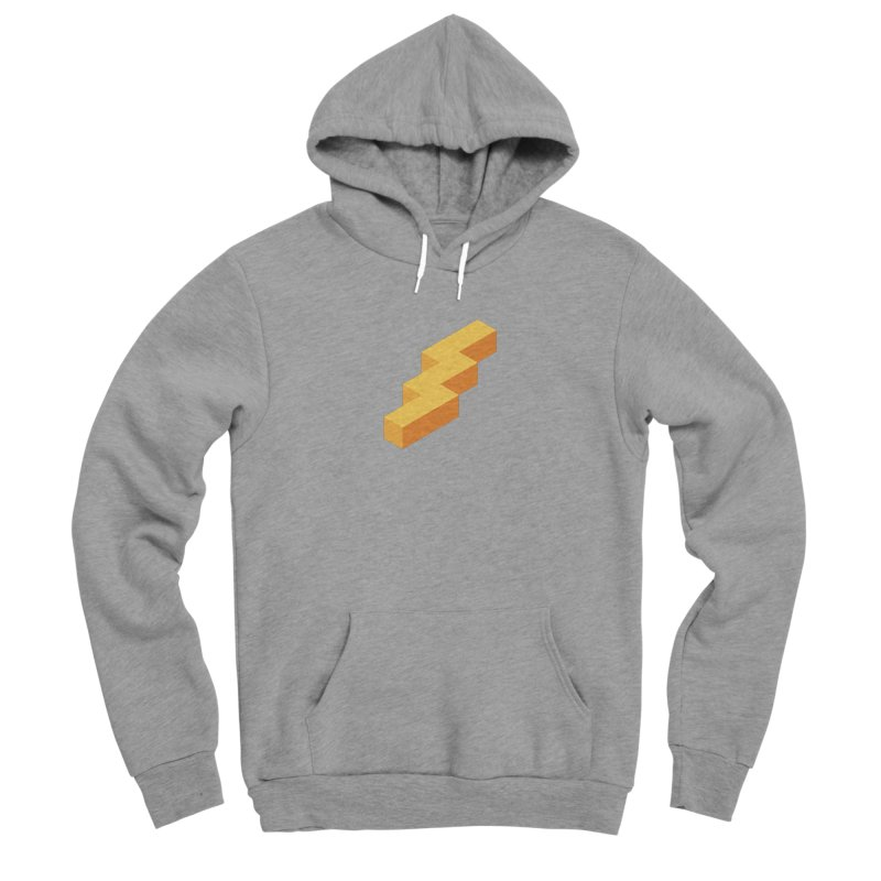 Lightning Noodle (Center) Women's Sponge Fleece Pullover Hoody by Red Means Recording