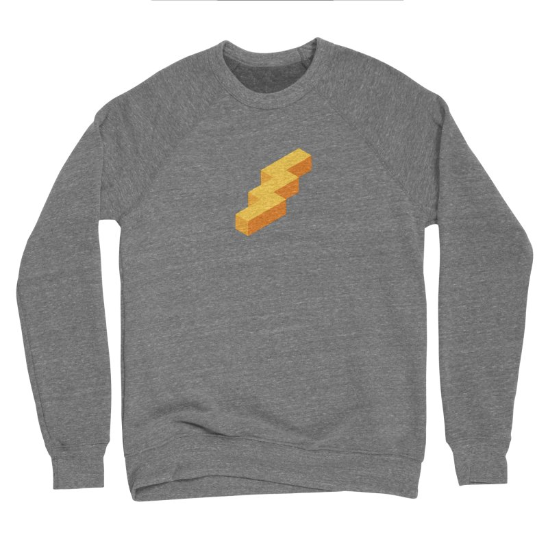 Lightning Noodle (Center) Men's Sweatshirt by Red Means Recording