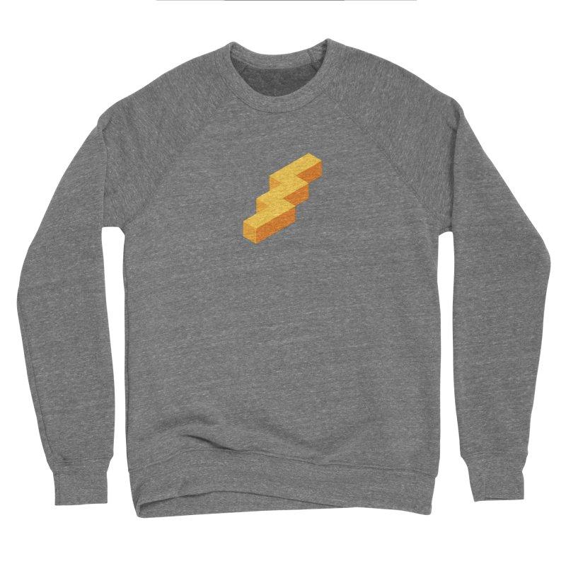 Lightning Noodle (Center) Women's Sponge Fleece Sweatshirt by Red Means Recording