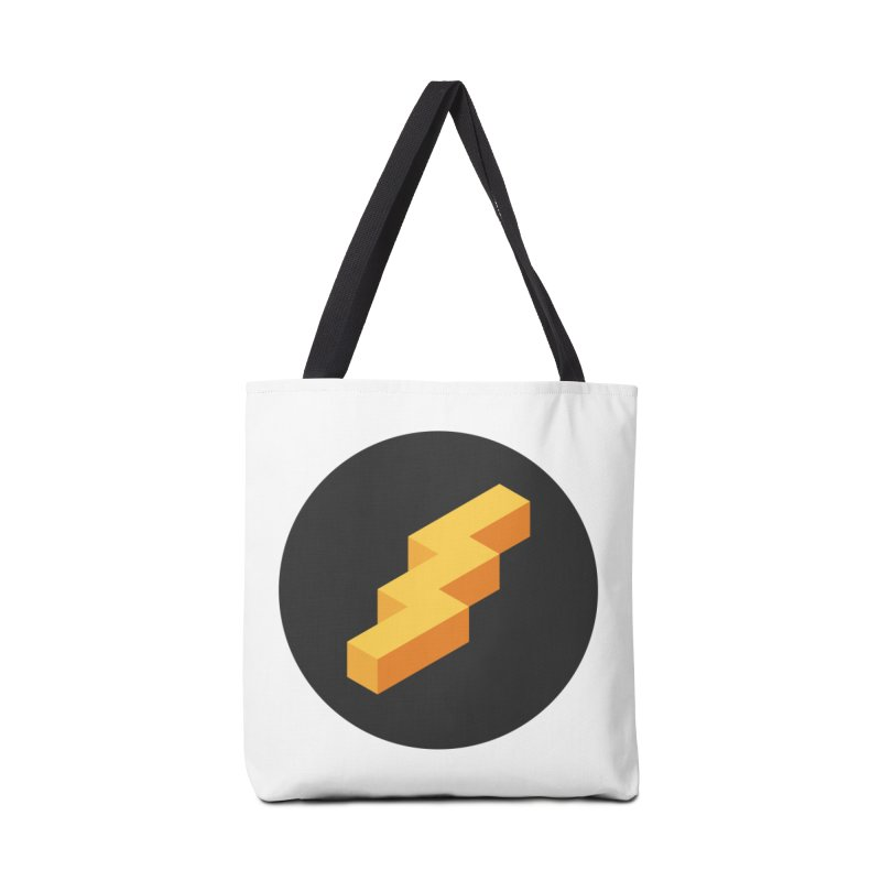 Lightning Noodle (Pocket) Accessories Tote Bag Bag by Red Means Recording