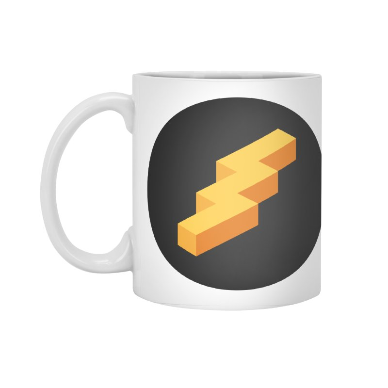 Lightning Noodle (Pocket) Accessories Mug by Red Means Recording