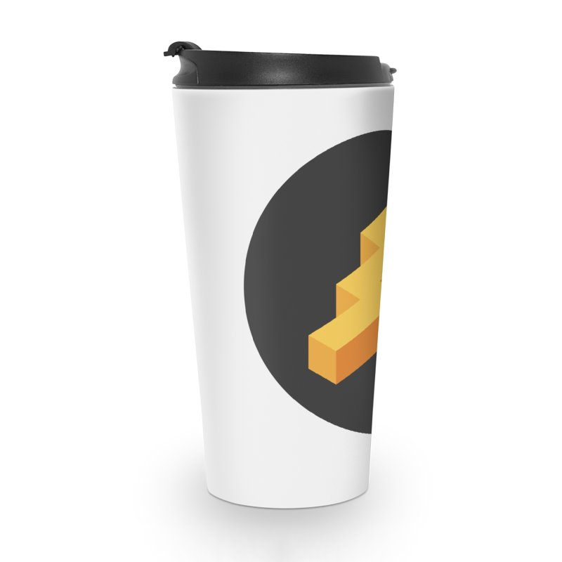 Lightning Noodle (Pocket) Accessories Travel Mug by Red Means Recording