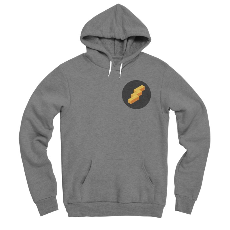 Lightning Noodle (Pocket) Men's Pullover Hoody by Red Means Recording
