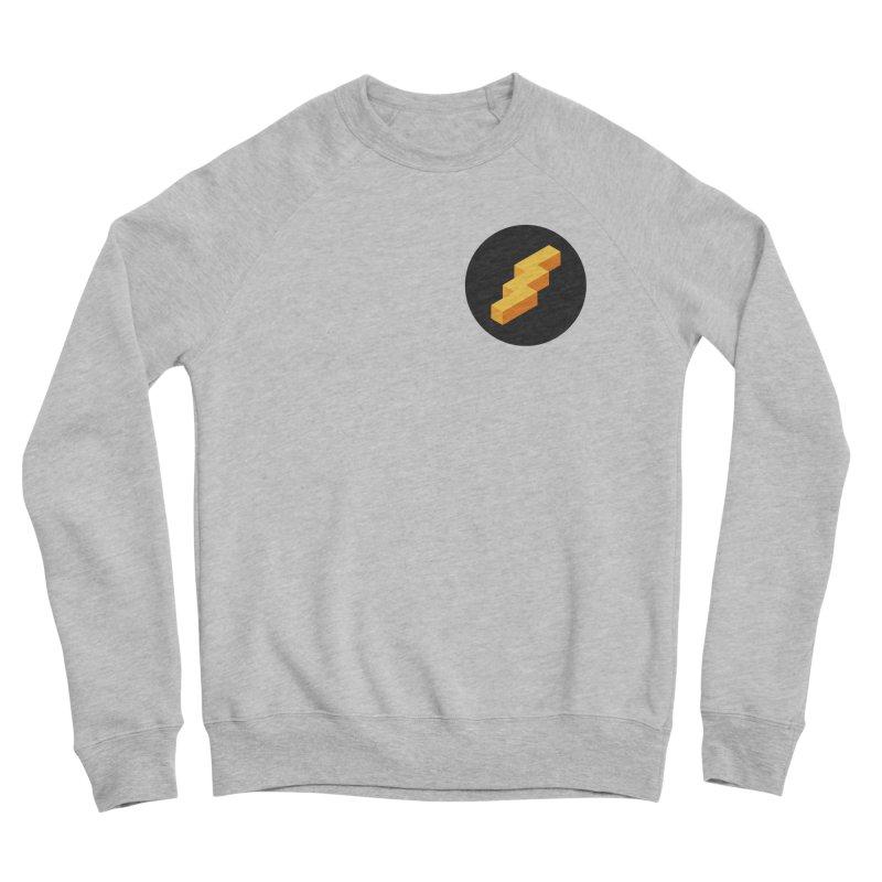 Lightning Noodle (Pocket) Men's Sponge Fleece Sweatshirt by Red Means Recording