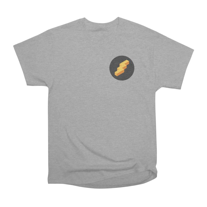 Lightning Noodle (Pocket) Women's Heavyweight Unisex T-Shirt by Red Means Recording