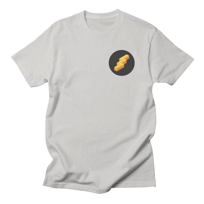 Lightning Noodle (Pocket) Men's Regular T-Shirt by Red Means Recording