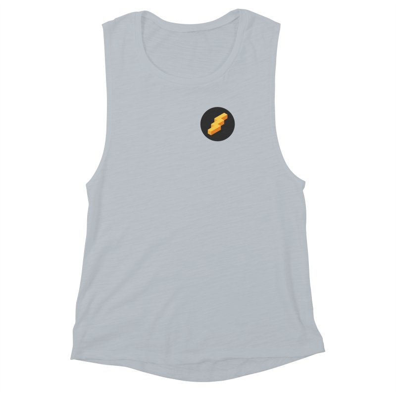 Lightning Noodle (Pocket) Women's Muscle Tank by Red Means Recording