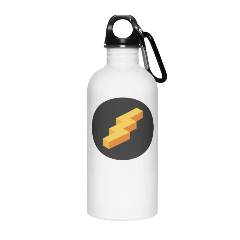 Lightning Noodle (Pocket) Accessories Water Bottle by Red Means Recording