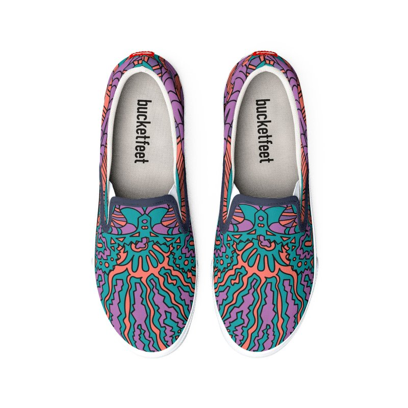 CORAL DREAMS Men's Shoes by RedlichDesign's Artist Shop