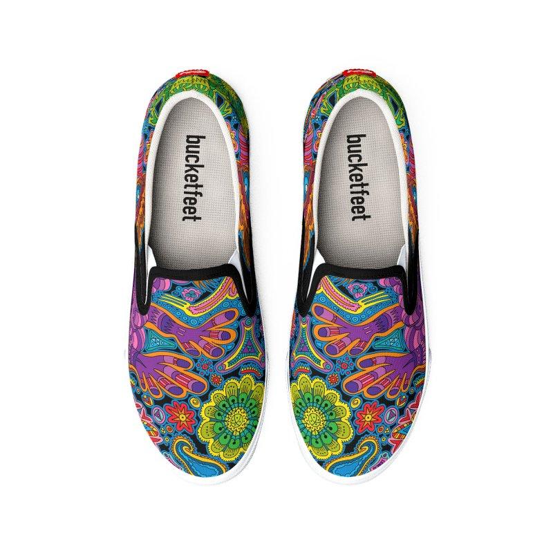HIPPY DIPPY Men's Shoes by RedlichDesign's Artist Shop