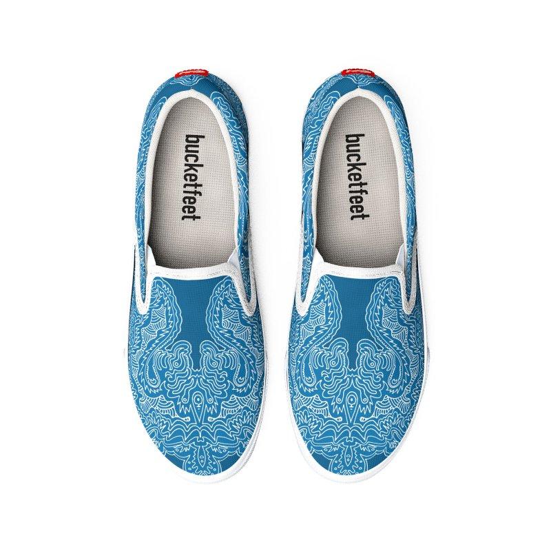 Swirly Whirly Men's Shoes by RedlichDesign's Artist Shop