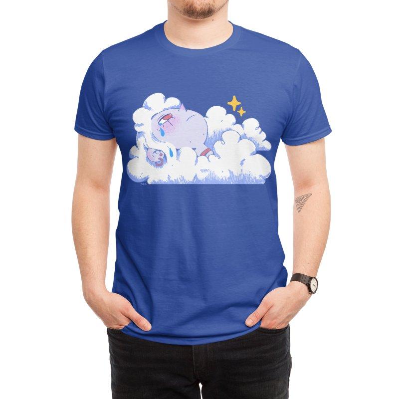 Crying Cloud Men's T-Shirt by Ree Artwork
