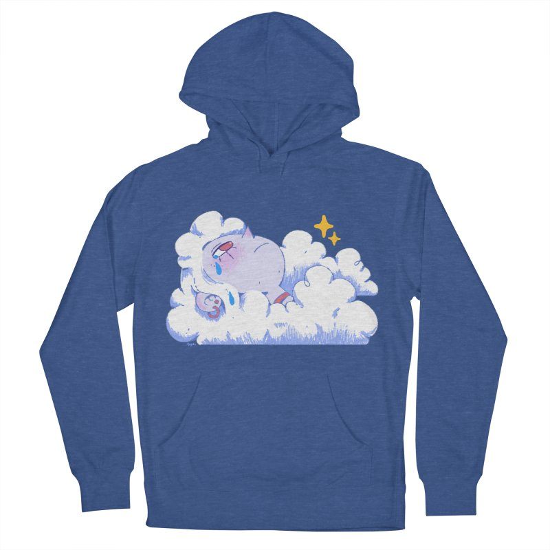 Crying Cloud Men's French Terry Pullover Hoody by Ree Artwork