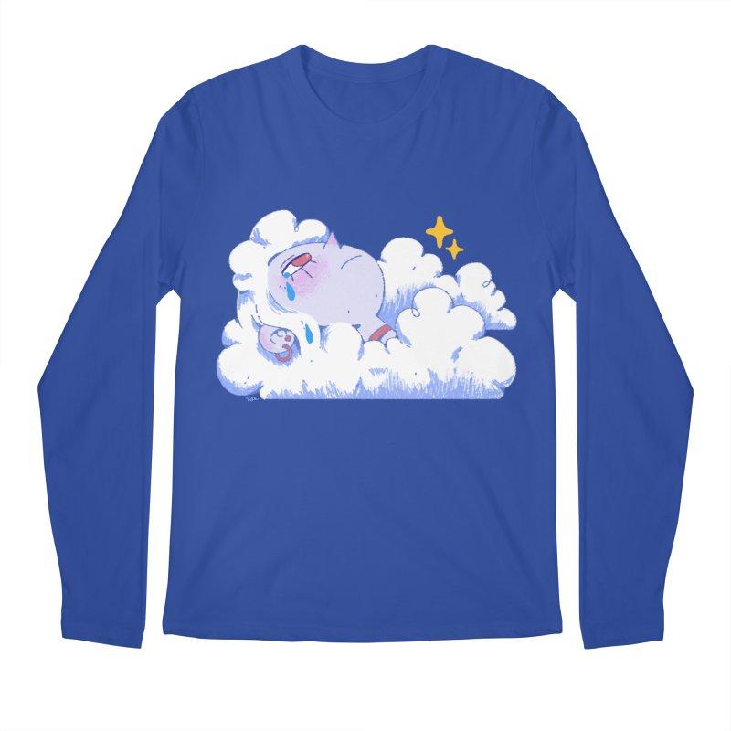 Crying Cloud Men's Regular Longsleeve T-Shirt by Ree Artwork