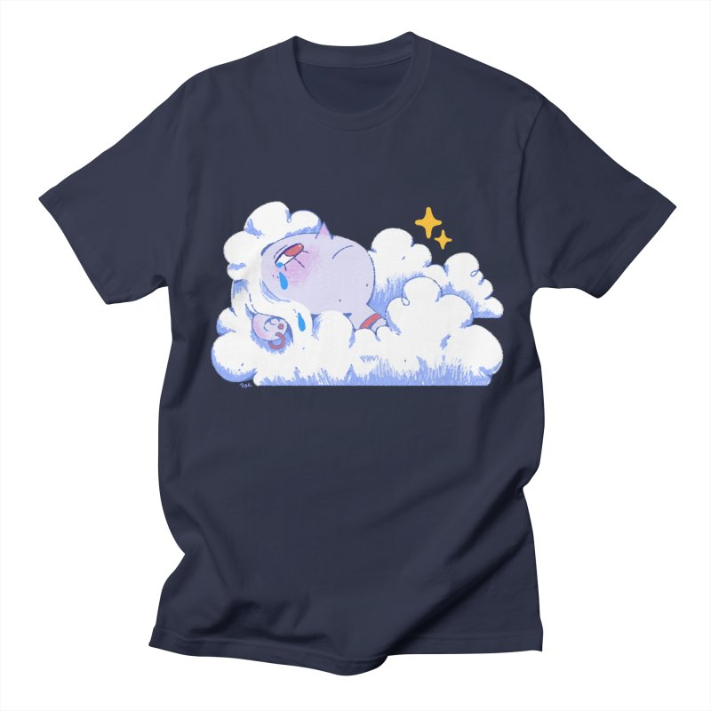 Crying Cloud Men's Regular T-Shirt by Ree Artwork
