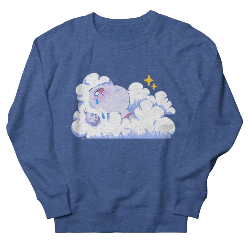 Crying Cloud Men's Sweatshirt by Ree Artwork