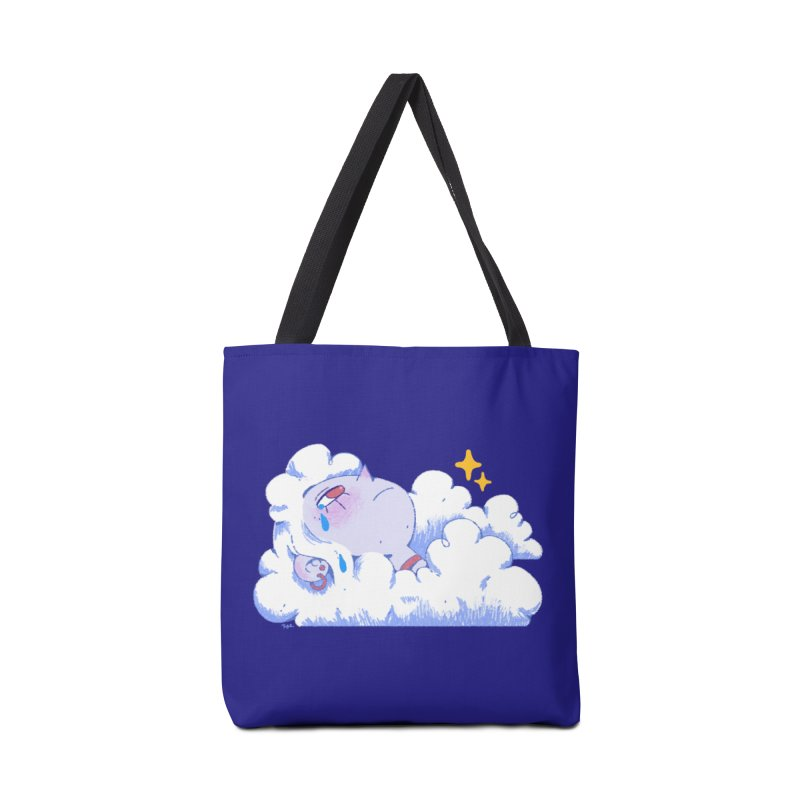 Crying Cloud Accessories Tote Bag Bag by Ree Artwork