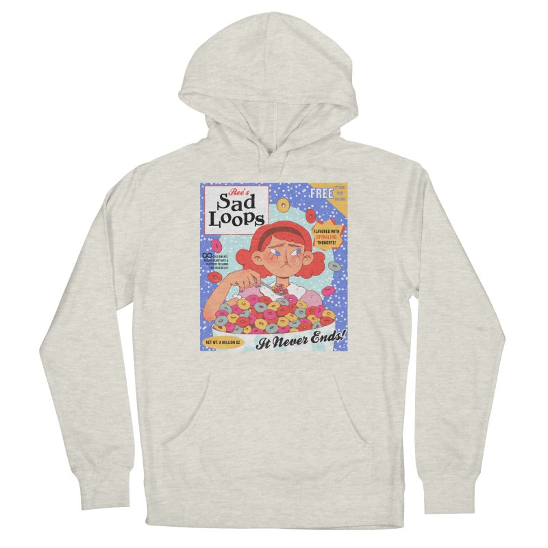Sad Loops Men's Pullover Hoody by Ree Artwork