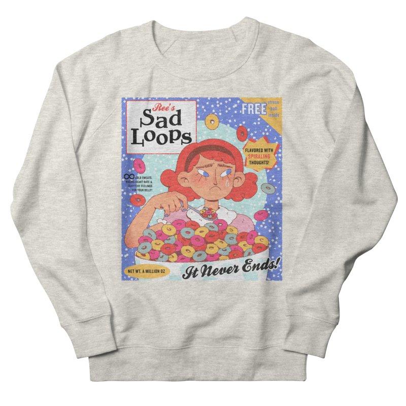 Sad Loops Men's Sweatshirt by Ree Artwork