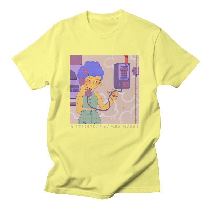 MS Men's T-Shirt by Ree Artworks
