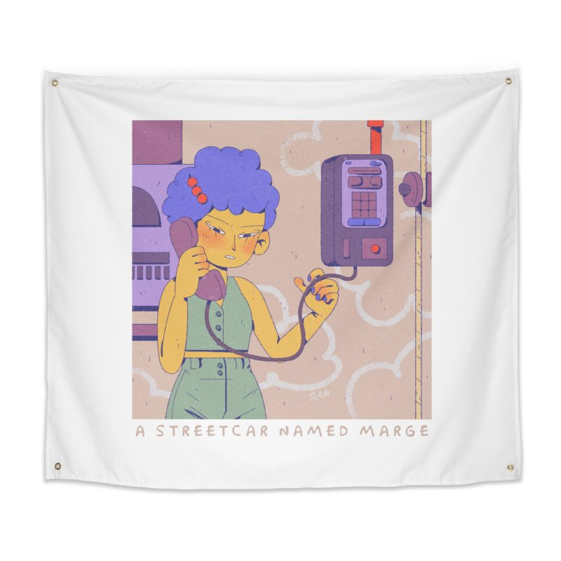 MS Home Tapestry by Ree Artwork