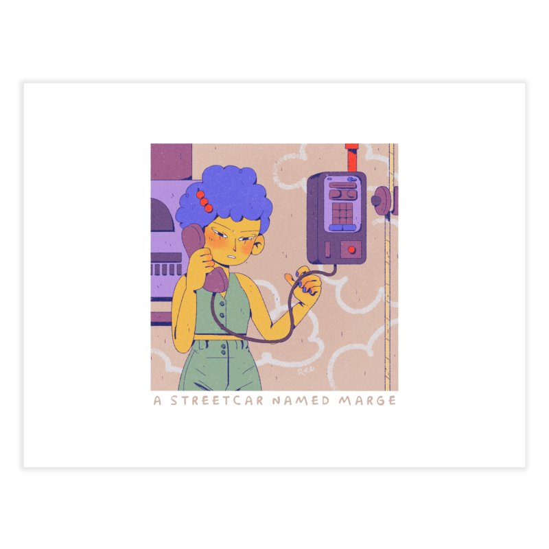 MS Home Fine Art Print by Ree Artwork