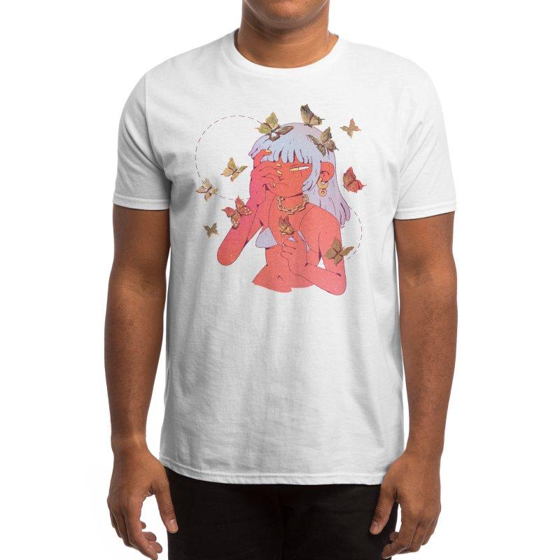 Butterfly Head Men's T-Shirt by Ree Artwork