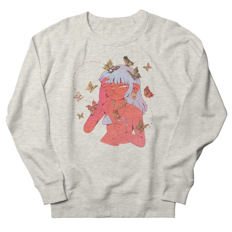 Butterfly Head Men's Sweatshirt by Ree Artwork
