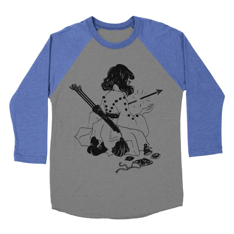 Broken Weaponry Women's Baseball Triblend Longsleeve T-Shirt by Ree Artwork