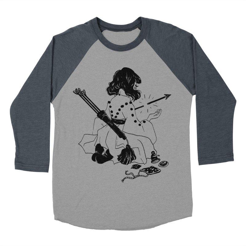 Broken Weaponry Men's Baseball Triblend Longsleeve T-Shirt by Ree Artwork