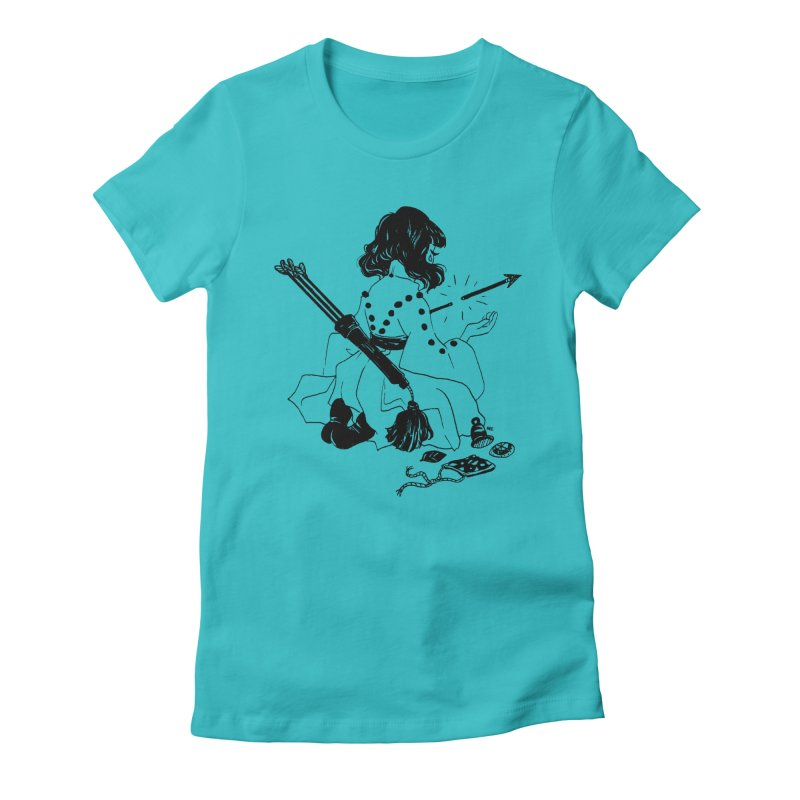 Broken Weaponry Women's T-Shirt by Ree Artwork