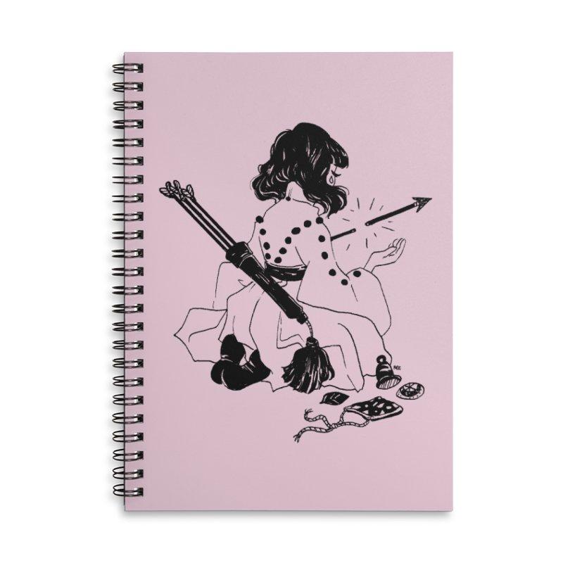 Broken Weaponry Accessories Notebook by Ree Artwork