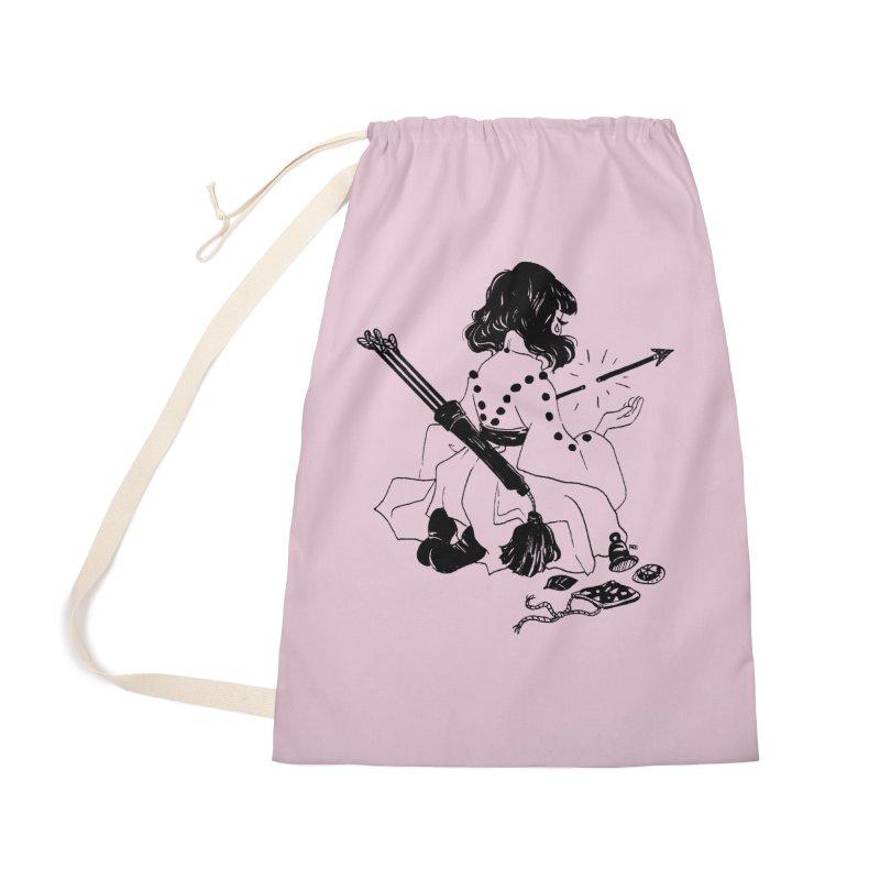 Broken Weaponry Accessories Bag by Ree Artwork