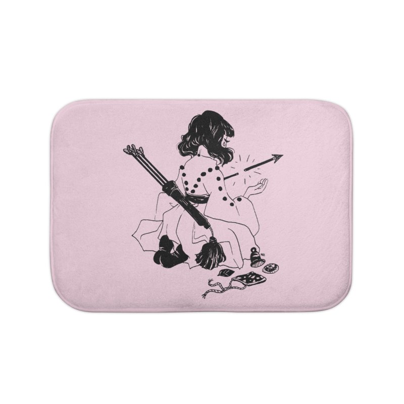 Broken Weaponry Home Bath Mat by Ree Artwork