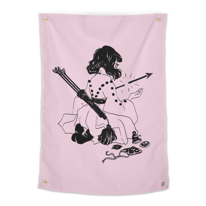 Broken Weaponry Home Tapestry by Ree Artwork