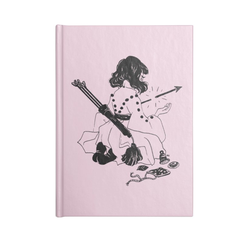 Broken Weaponry Accessories Lined Journal Notebook by Ree Artwork