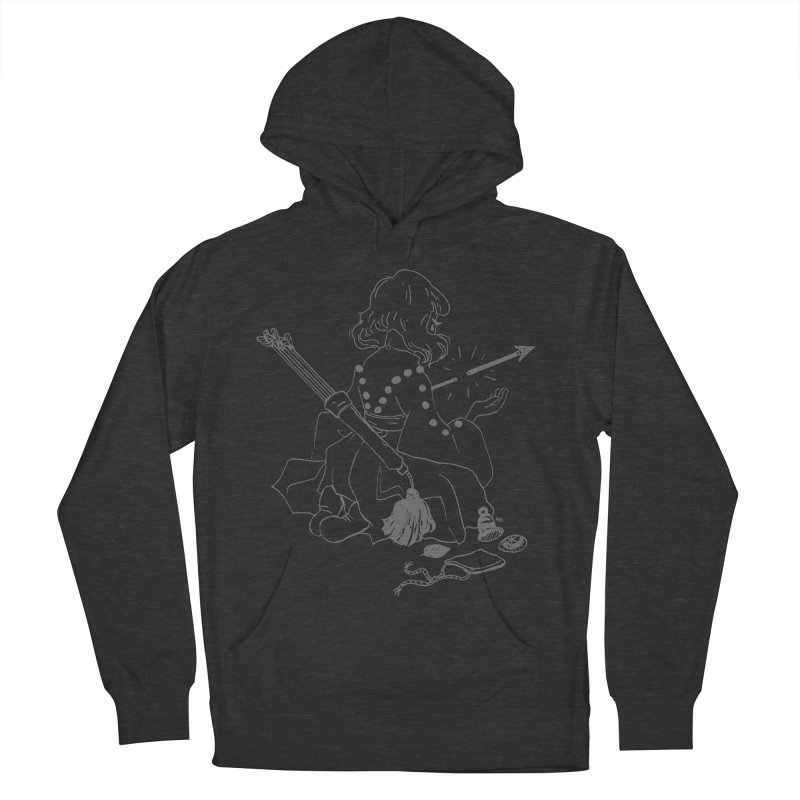 Broken Weaponry (2) Women's French Terry Pullover Hoody by Ree Artwork