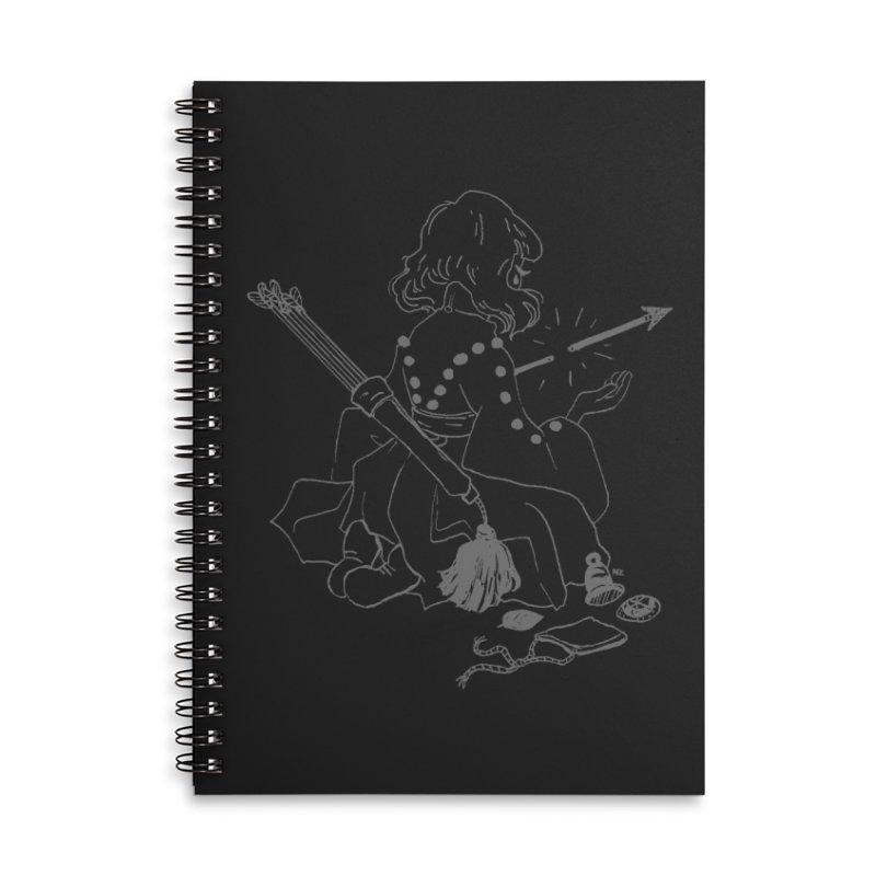 Broken Weaponry (2) Accessories Notebook by Ree Artwork