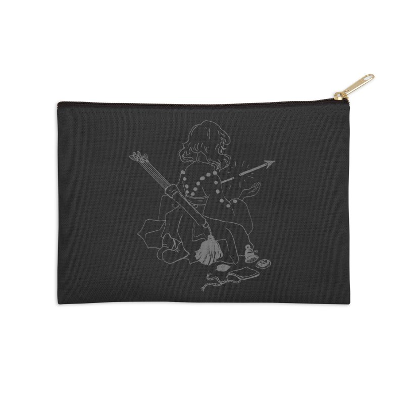 Broken Weaponry (2) Accessories Zip Pouch by Ree Artwork