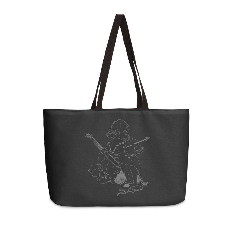 Broken Weaponry (2) Accessories Weekender Bag Bag by Ree Artwork